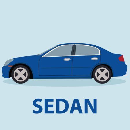 Sedan Car la conception de type transport de véhicules