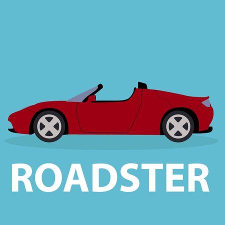 roadster: Car Roadster vehicle transport type design