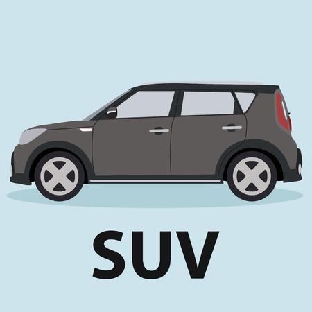 SUV coche diseño de los vehículos tipo de transporte