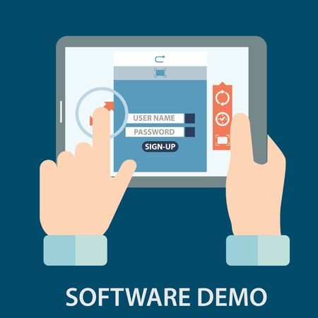 Software demo testing vector