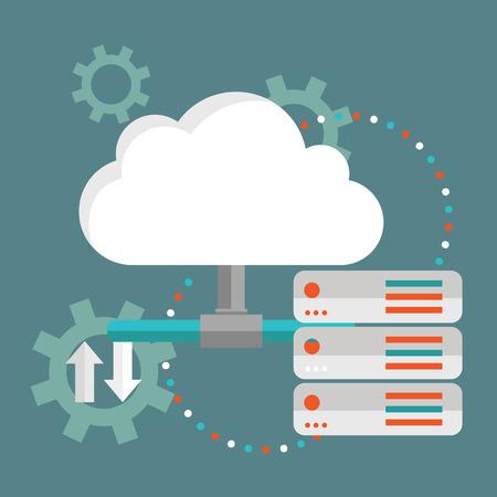 data synchronization: Cloud Computing. Cloud data storage