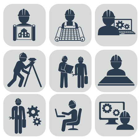 coal power station: Vector illustration industry factory modern icons set.