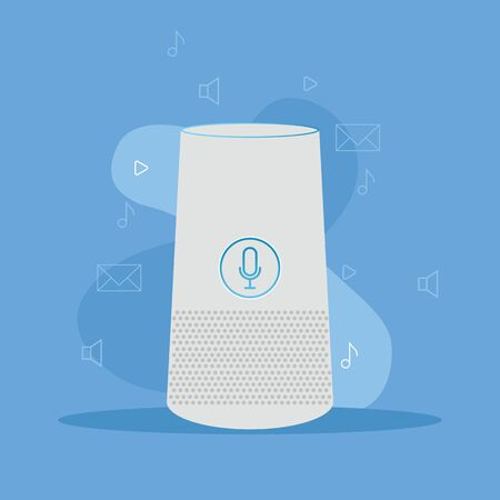 Smart speaker, voice command device
