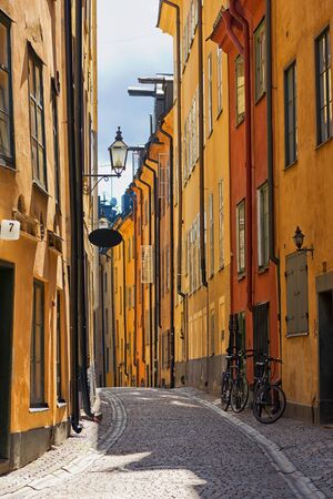 Stockholm Old town road