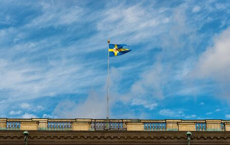 Swedish Royal Flag photo