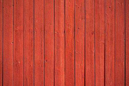 古い、赤グランジ木製パネルの背景として使用 写真素材