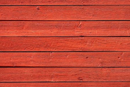 Old, red grunge wood panels used as background  photo