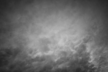 maelstrom: Clouds in black and white, shoot up and a bad feeling coming