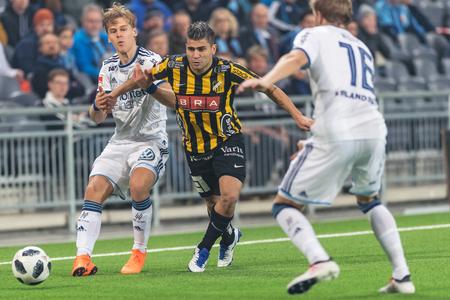 STOCKHOLM, SWEDEN, MARCH, 12, 2018 Paulinho (Hacken) in action at the Swedish cup quarterfinals between Djurgarden and Hacken. Winner DIF with 1-0
