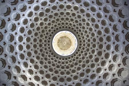 Rome, San Bernardo alle terme, dome of the church similar to the pantheon