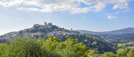 Amelia, Umbria, Italy. Medieval village on the hill Stock fotó