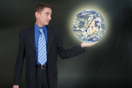 geosphere: Concept to make people aware of planet earth