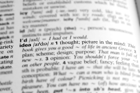 pronunciation: Idea - Dictionary definition of business word