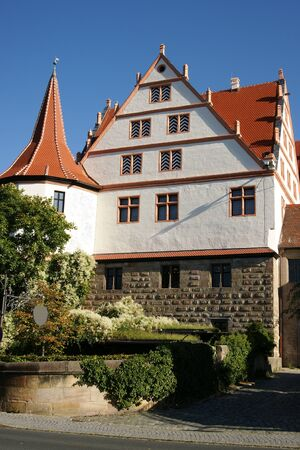 historically: Castle Ratibor in Roth, Germany Stock Photo