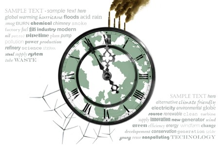 ticking away: Concept to promote renewable Energy
