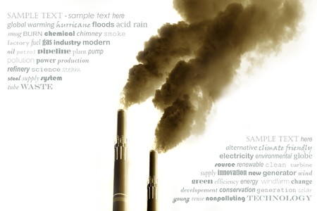 Concept to promote renewable Energy photo