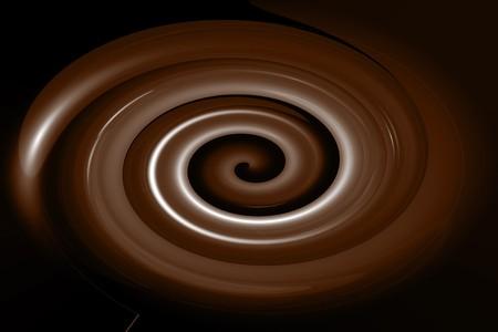 Smooth Chocolate Swirl