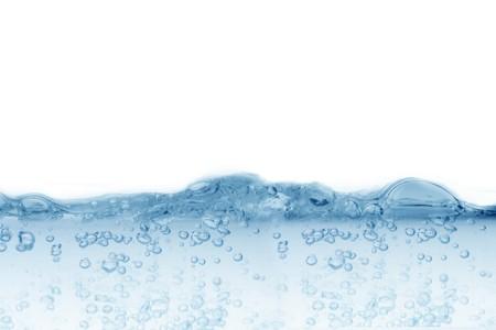 Beautiful water bubbles background