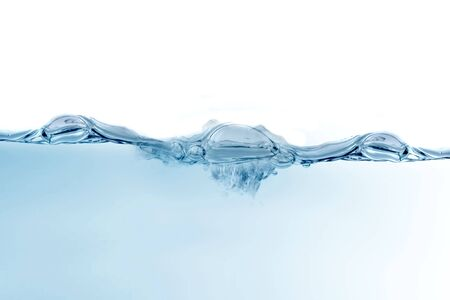 Beautiful water bubbles background photo