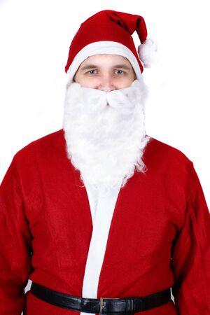 Portrait of Santa Claus photo