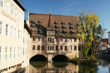 Heilig-Geist-Spital - ancient franconian building  photo