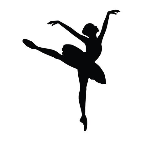 bailarina de ballet: Bailarina de ballet Vectores