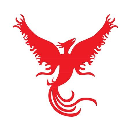 Phoenix Rising Stock Vector - 10516685