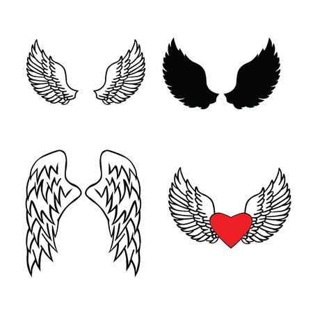 rebellious: Wings Illustration