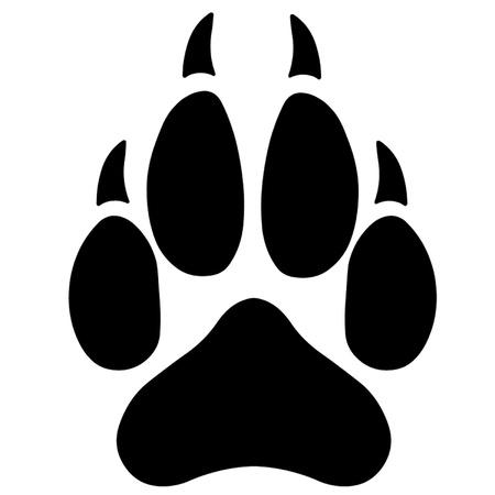 garra: Lobo de la pata