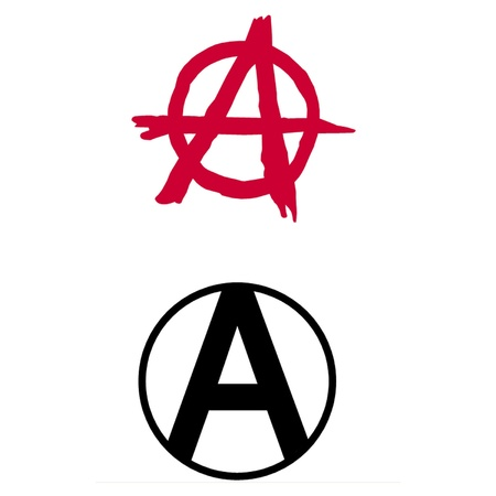 1218 Anarchy Symbol Stock Vector Illustration And Royalty Free