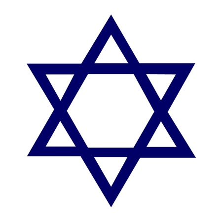 etoile juive: �toile de David Illustration