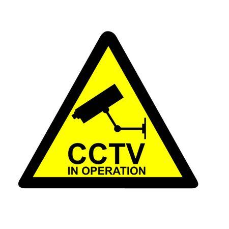 big brother spy: Aviso de CCTV Vectores