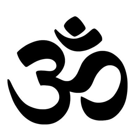상징: 옴 기호 일러스트