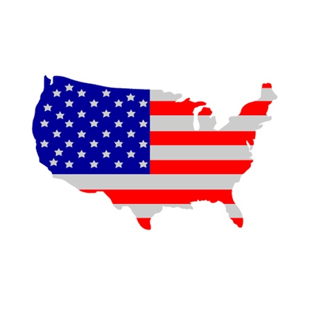 president of the usa: United States Of America Flag