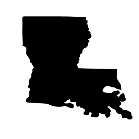 State of Louisiana Vector
