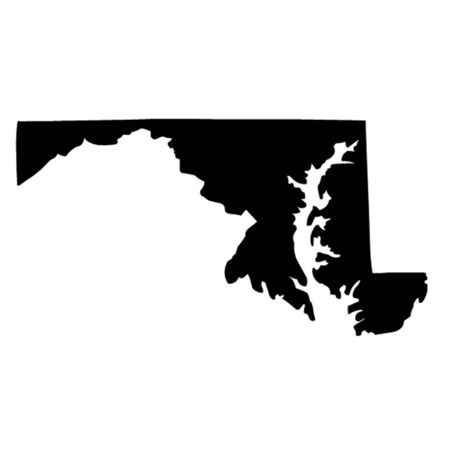 State of Maryland Vector