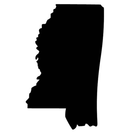 mississippi: State of Mississippi Illustration