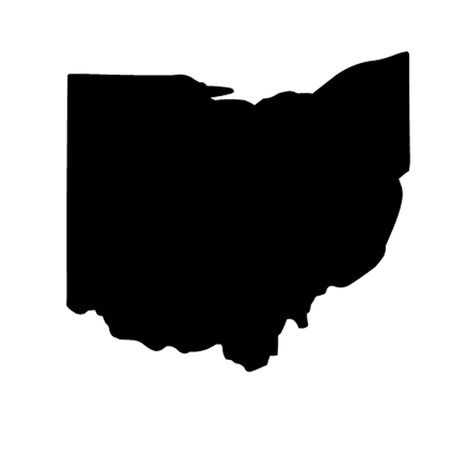 State of Ohio Vector