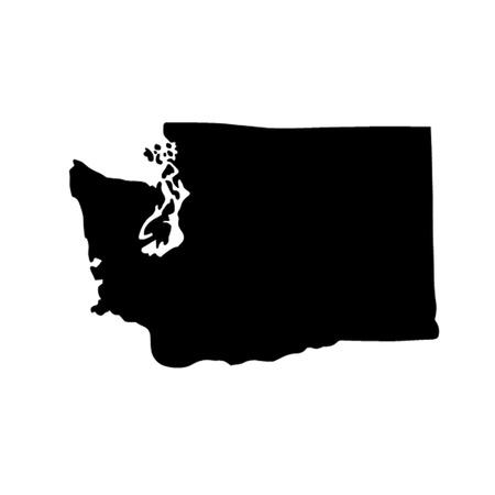 washington state: State of Washington Illustration