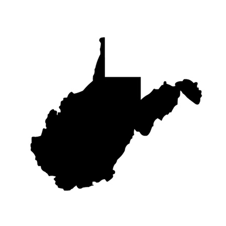 State of West Virginia Vector