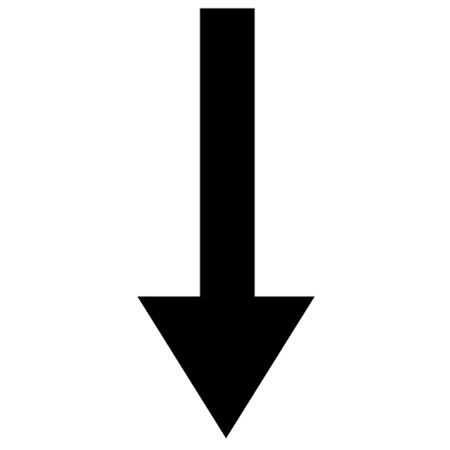 down arrow: Arrow Pointing Down