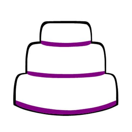 indulgent: Cake Illustration