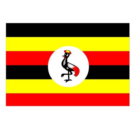 Flag of Uganda Stock Vector - 12833659