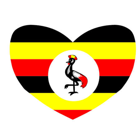 Love Uganda Stock Vector - 12833661