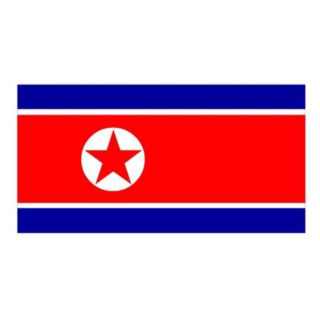 Flag of North Korea Stock Vector - 13043014