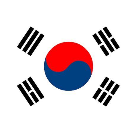 dictature: Drapeau de la Cor�e du Sud Illustration