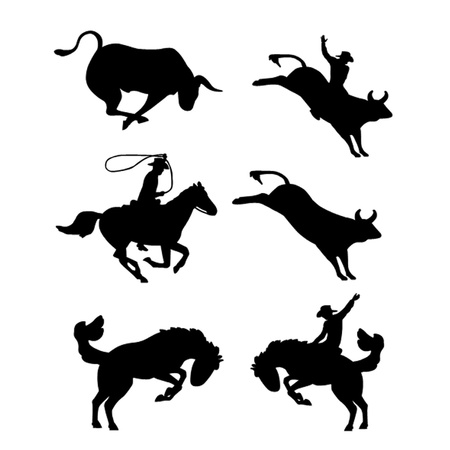 bronco: Rodeo Vector Selection