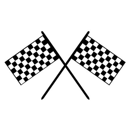 Grand Prix Flags  Ilustração