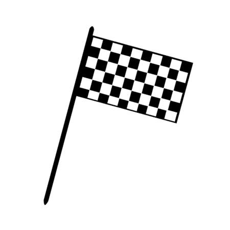 race car driver: Grand Prix Flag Illustration