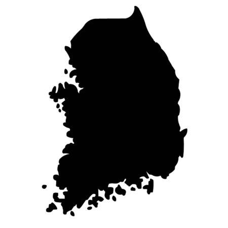 dictature: Carte de la Cor�e du Sud